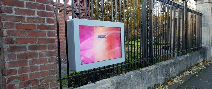 Nouvel écran d'affichage légal à la Mairie de Lambersart – 59