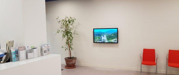 Installation écran d'affichage tactile – Mairie Vaison la Romaine