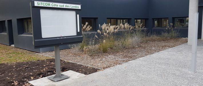 Affichage papier grande capacité – Sitcom Côte Sud des Landes