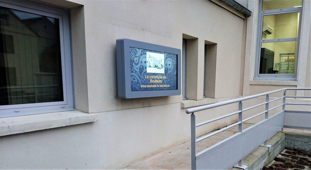 affichage mairie