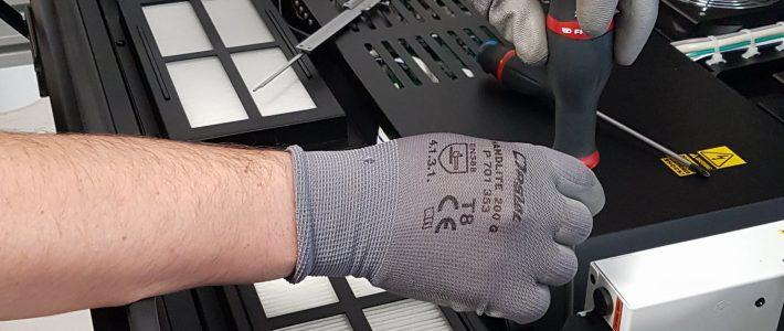 Préparation technique de la rentrée en atelier