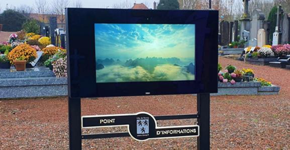 Place au numérique dans nos cimetières
